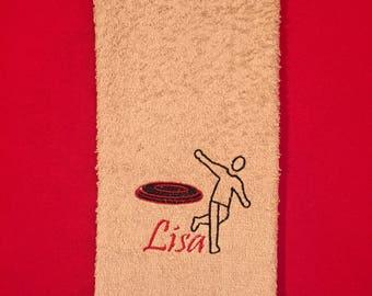 Disc/Frisbee Golf Hand/Fingertip Towel