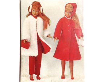 Large OOAK Retro Vintage Barbies Magnet Barbie Collectable Red Barbie Fashion 1960's Barbie Vintage Childhood Vintage Toy Magnet - No US-12