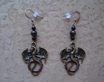 Earrings DRAGONS