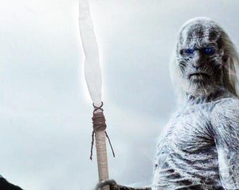 Game of Thrones NIght KIng White Walker COSTUME Javelin Custom Made