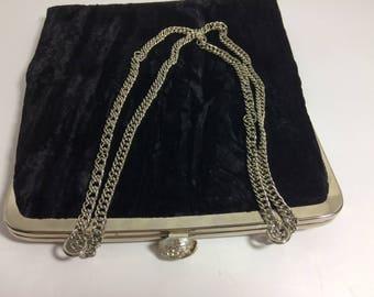 HL Harry Levine Vintage Velvet Evening Bag