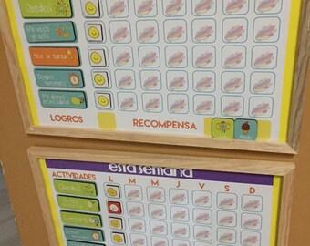Board activities and responsibilities for children!