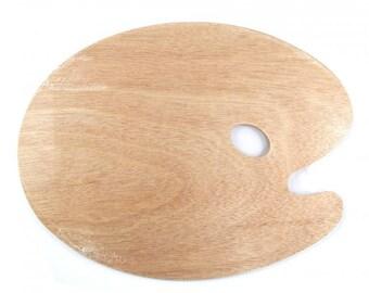 Traditional Wooden Paint Palette - 30 x 40cm Size