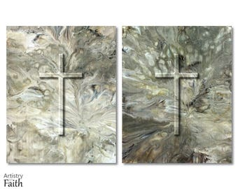 Christian Crosses, Religious Wall Art, Christian Prints, Religious Wall Art, Christian Wall Decor, Spiritual Art, for Pastor, Pastor Gifts