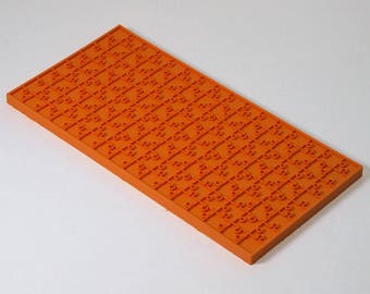 Texture sheet Puzzle, Flexible polymer texture matt, Polymer Clay Texture Plate, Impression Stamp, Texture Stamp for soap