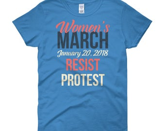 Women's March January 2018 Shirt | Equality | Women Rights | Feminist | Human Rights