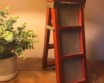 Ladder picture frame