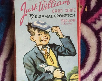 Vintage Just Wiilliam Playing Cards by Pepys Games