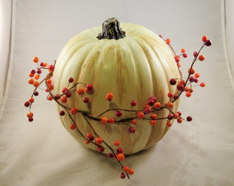 Large Fall Accent Pumpkin