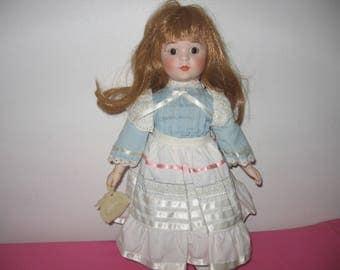 1985 Enesco Nostalgic Doll - Enesco Monica Nostalgic Doll - Enesco Collectible Dolls - Enesco Monica Doll 1985