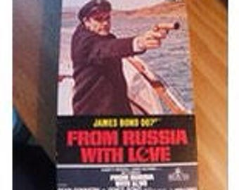 JAMES BOND 007 From Russia With Love VHS Movie Video Tape