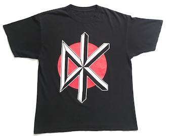 """1997 Dead Kennedys """"DK"""" vintage band shirt-XL-Black Flag, Circle Jerks, Agent Orange, Bad Brains, Bad Religion, Descendents, Punk, Rancid"""
