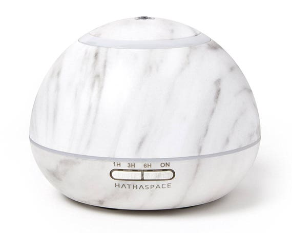 Hathaspace White Marble Essential Oil Diffuser