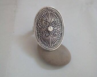 Ring filigrane silver925