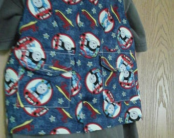 CLEARANCE! Size XS Weighted Vest for Child w/Special Needs and Sensory Issues. Thomas The Train Print.