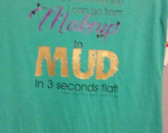 Make-up to mud