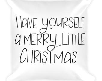 Christmas Pillow - Double Sided
