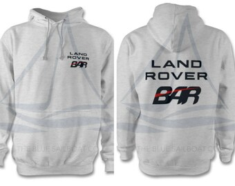 Land Rover Sailing Academy BAR Adults Hoodie, One Life Live It, Land Rover, Defender, Novelty T-Shirt, Cars,  Land Rover T-Shirt Adults