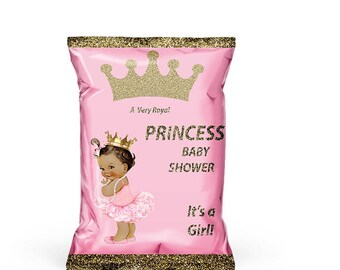 Baby shower chip bag