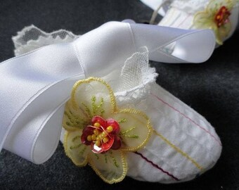 Baptismal shoes, baby shoes