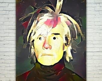 Andy Warhol - Andy Warhol Poster,Andy Warhol  Art,Andy Warhol Print,Andy Warhol Poster,Andy Warhol Merch,Andy Warhol Wall Art,Andy Warhol Fa