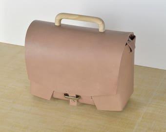 Leather bag // Leather handbag // Leather crossbody bag. Handbag. Pink . Shoulder bag.