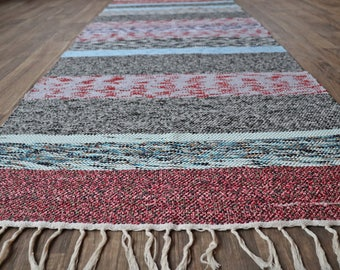 Turkish Handmade Rag rug (kod: 15133)
