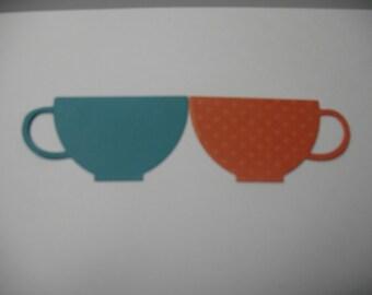 Assorted Teacup Die Cuts