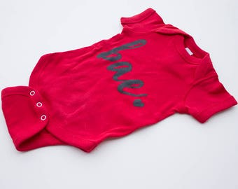 Bae Onesie (Red)