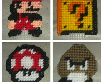 Super Mario Bros Bookmarks