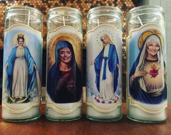 Golden Girls Religious Candle Set
