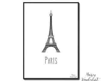 Picture / poster - EIFFEL Tower - PARIS, France