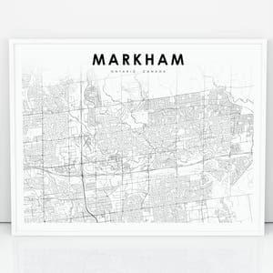 Markham print Etsy