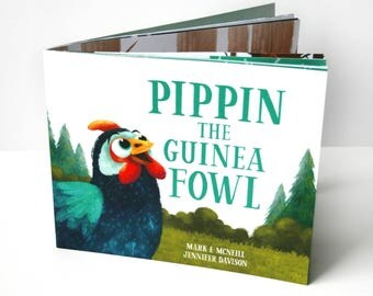 Pippin the Guinea Fowl - Children's Book
