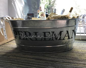 Personalized Beverage Bucket