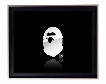 Bape Chrome Poster or Art Print (a bathing ape)