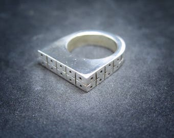 Solid Tribal Ring
