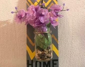 Hanging Vase Wall Key Holder