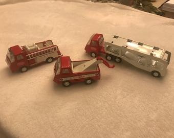1970's Red & White Tonka Trucks