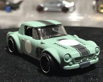 Custom Satin Hot Wheels Factory Flat Datsun Nissan Fairlady 2000