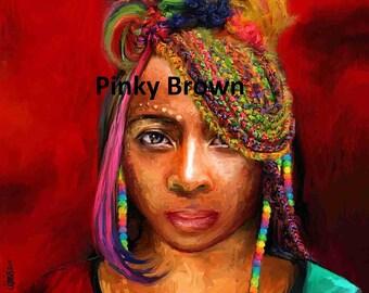 HAPPY EARTHSTRONG mi sistren rasta reggae birthday greetings card