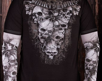 "Man's Long Sleeve Shirt ""Crypt"""