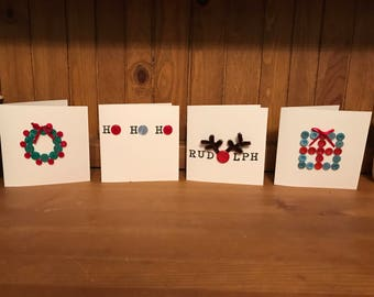 5 Handmade Christmas Cards
