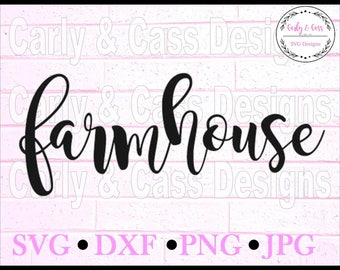 Farmhouse SVG Digital File Cut Cricut