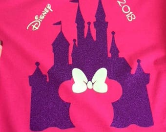 Iron on transfers for Magical vacations, Vinyl Decals, Decals for Shirts,  Iron on, Vinyl, Group,   DIY heat transfers for Disney Trip Shirt
