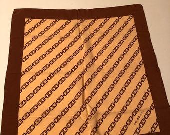 Celine vintage Celine silk scarf vintage silk scarf