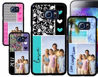 Custom Image Rubber Case For Samsung S5, S6, S6 edge, S6 Edge Plus, S7, S7 Edge,  8, 8 plus - Custom Image