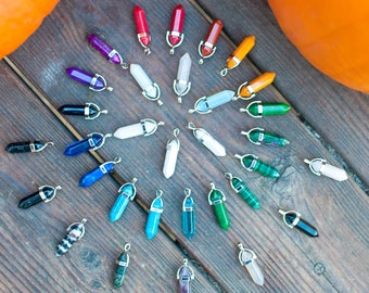 Crystal Point Necklaces