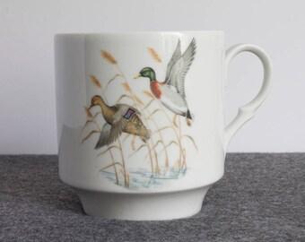 mallard duck mug bavaria schumann arzberg germany