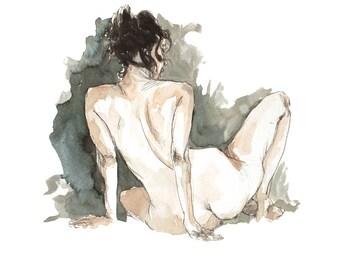 Woman sitting 6